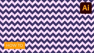 Learn To Make A Chevron Pattern In Illustrator