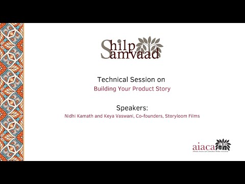#3 ShilpSamvaad: Building Your Product Story