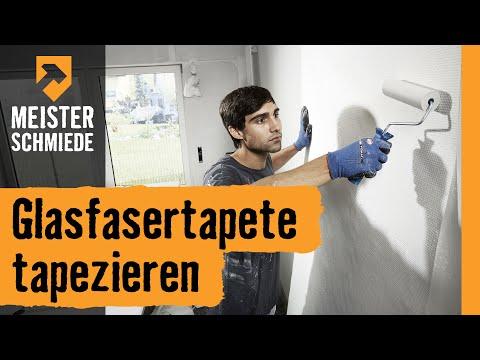 Glasfasertapete tapezieren | HORNBACH Meisterschmiede