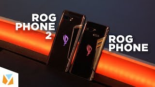 Asus ROG Phone II vs Asus ROG Phone Specs Comparison