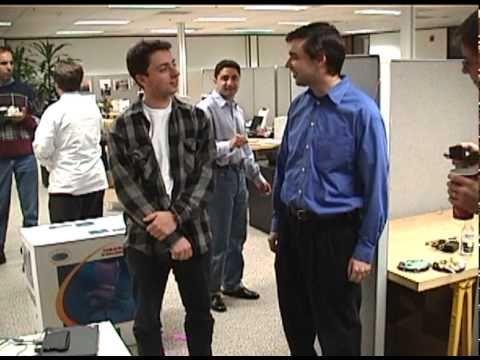 Early Google Video Shows Mundane Office Birthday Celebrations