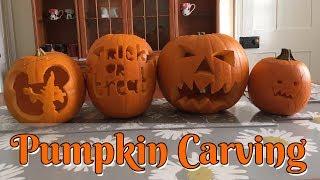 Pumpkins Carving • Disney Q&A And Mickey Pumpkin!