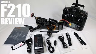 WALKERA F210 FPV Race Drone Review - Part 1 - [UnBox, Inspection, Setup]
