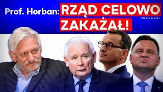 IPP Prof. Horban: Rząd celowo zakażał koronawirusem! IDŹ POD PRĄD NA ŻYWO 2021.01.27