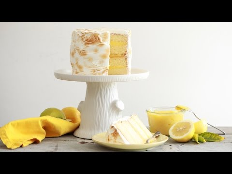Video Lemon Meringue Cake - Gemma's Bigger Bolder Baking