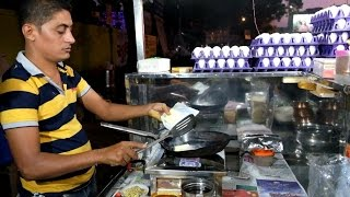 Ahmedabad Street Food: Omelette Center Ahmedabad (India) Video 2 ( Shot on Fujifilm X-T1)