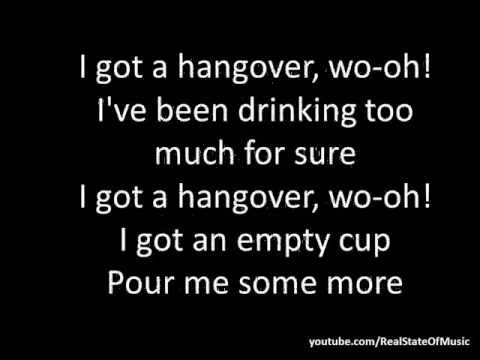 Taio Cruz feat. Flo Rida - Hangover (Lyrics On Screen)