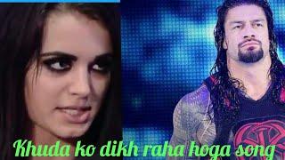 Khuda Ko Dikh Raha Hoga Sofia Kaif Song Roman Reings And ♥♥♥paige
