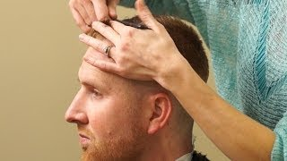 HOW TO CUT A HIGH AND TIGHT // Short Tapered Mens Haircut
