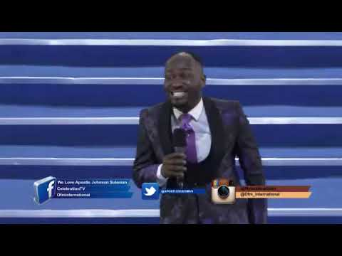 Witches Strives Base On Physical Contact - Apostle Johnson Suleman