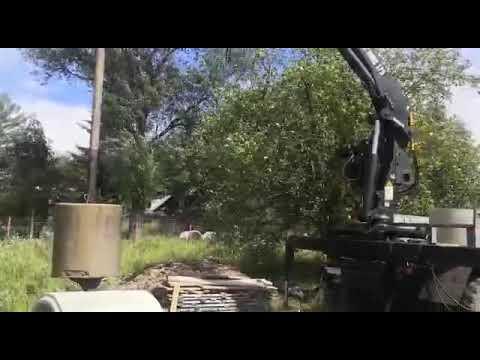 Бурение колодца в Московской области Лотошинский район видео