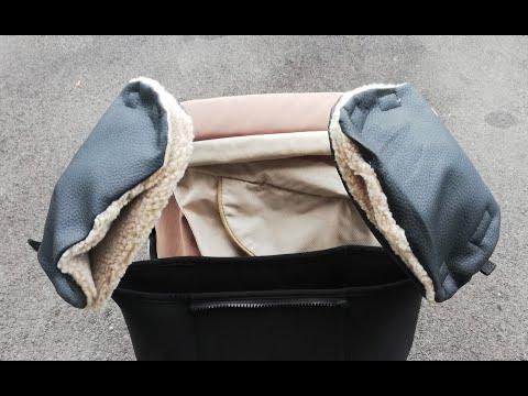 +++Kinderwagen Handwärmer / Buggy Handwärmer++MUFF+++2 Teile - mit kostenlosem Schnittmuster+++