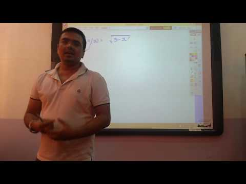 Domain of a Function - Part 1 - IIT JEE Mains & Advanced