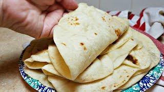 Soft Flour Tortillas Recipe | Tortillas de Harina | How to make tortillas from Scratch
