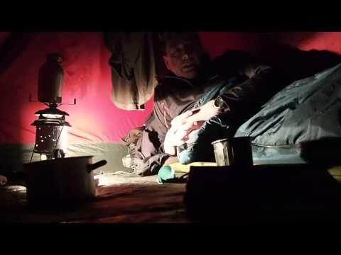 Drausen -11°, im Zelt +20°C - Fjällräven AKKA