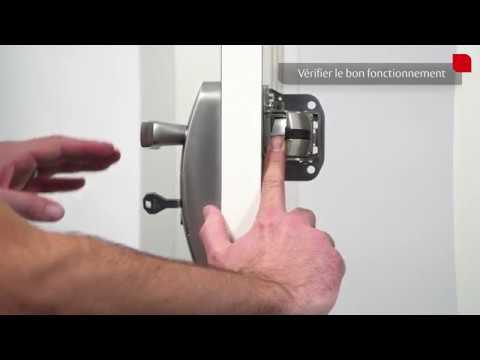 Tutoriel d'installation de la barre anti-panique Fluid - Module extérieur EN5000