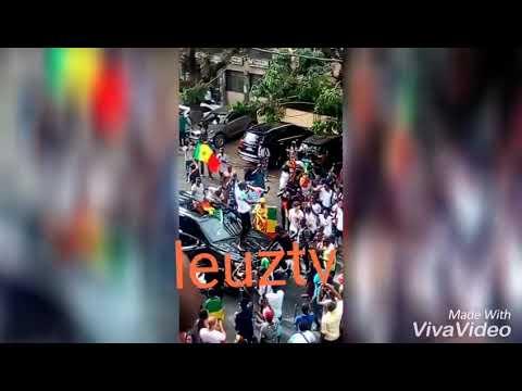 Ambiance en ville après match Sénégal-Pologne