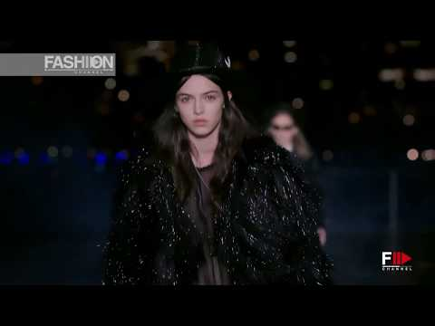 SAINT LAURENT Spring Summer 2019 Menswear New York - Fashion Channel