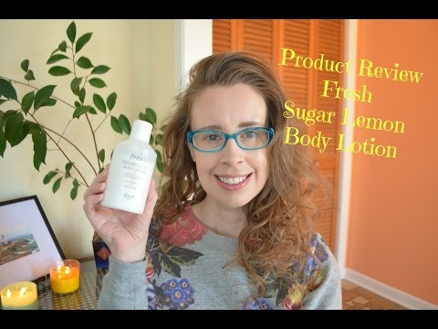 Review of the Fresh Sugar Lemon Body Lotion