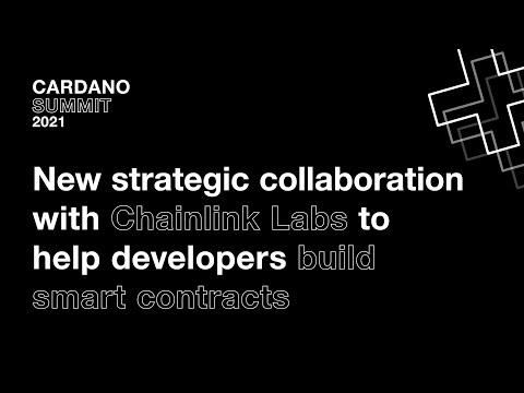 Cardano Summit: Chainlink Announcement
