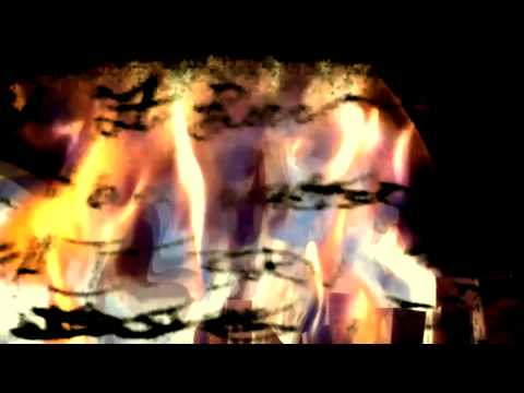 "Projected ""Watch It Burn"" lyric video. Directed by Mike Ames ""aka Metal Mike"""