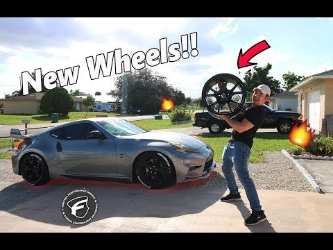 New Wheels For The 370z ARRIVED!!! *FORGESTAR CF5Vs*