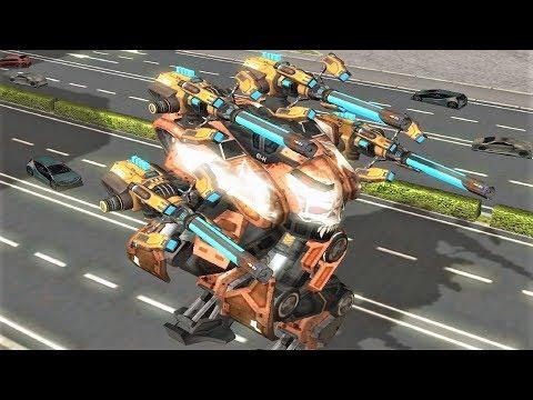 War Robots [3.6] Test Server - NEW Weapon Arbalest Gameplay
