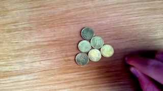 The 6 Coin Trick, From Triangle To Circle!