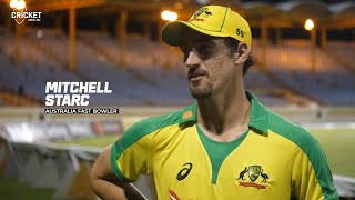 Starc re-lives clutch last over against Andre Russell | West Indies v Australia 2021
