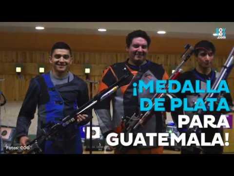 José Valiente ganó la primera medalla para Guatemala en los Juegos Bolivarianos