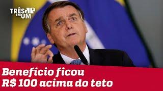 Bolsonaro confirma valor de R$ 400 para Auxílio Brasil