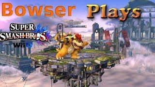 Bowser Plays Super Smash Bros Wiiu