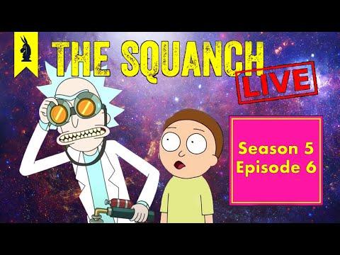 "The Turkey Plot ""Rick & Morty's Thanksploitation Spectacular"" (S05E06) - The Squanch"