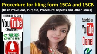 Procedure for filing form 15CA and 15CB | 15CA and 15CB Online Filing Procedure
