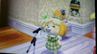 Isabelle  - (Animal Crossing) - Isabelle Singing for 1 Hour