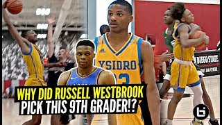 Russell Westbrook Picked This 9th Grader To Be On His AAU Team! Here's WHY! DJ  Dudley #WhyNot