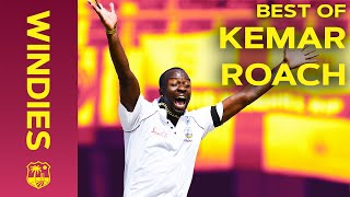 Kemar Roach - One of the best fast bowlers in the world | Best Wickets | Windies