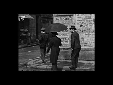 Le Marais : Images d'archives, Paris 1934-1935