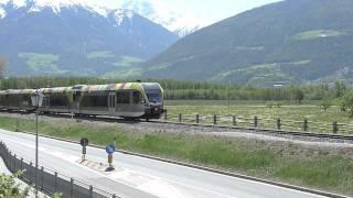 preview picture of video 'Il Treno della Val Venosta - Die Vinschger Bahn'