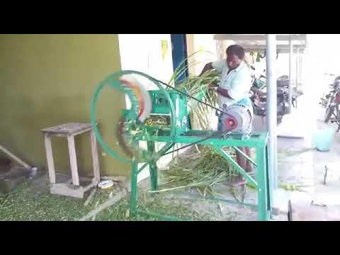 Electric Chaff Cutter Cum Pulverizer Machine