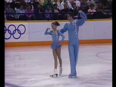 Daria Grinkova Skating Sergei Grinkov & E...