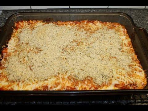 Making Chicken Parmesan Casserole – Easy Recipe!