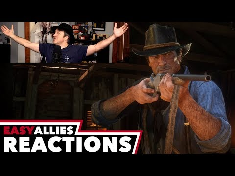 red dead redemption 2 gameplay video brandon s reactions