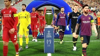 Barcelona Vs Liverpool (Semi-final) UEFA Champions League 2019 Gameplay