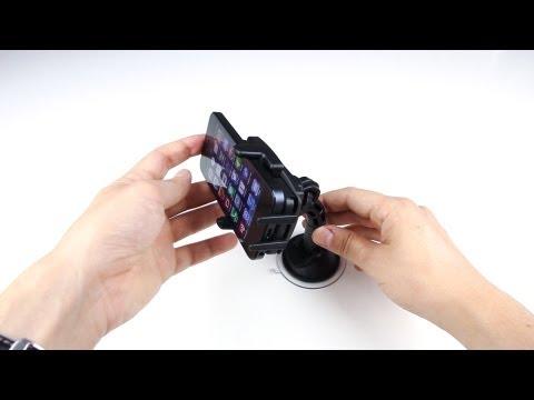 Review: Wicked Chili KFZ Halterung mit Kugelgelenk für Apple iPhone 5 Autohalterung im Test