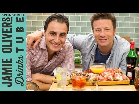 Video Martini & Tonic, Negroni and Bronx: 3 Vermouth Cocktails | Jamie Oliver & Giuseppe Gallo
