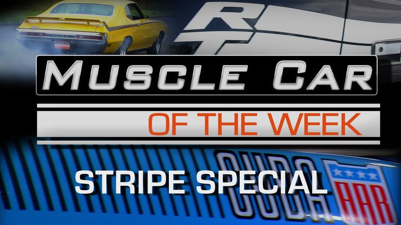 Stripes And Smoke The Coolest Muscle Car Graphics Muscle Car Of