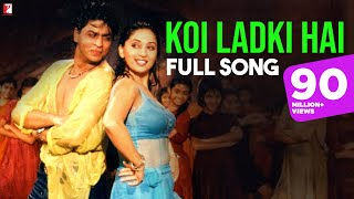 Koi Ladki Hai - Full Song | Dil To Pagal Hai | Shah Rukh Khan