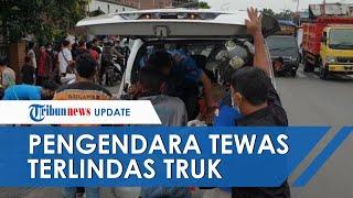 Kronologi Pengendara Motor Tewas Tergilas Truk Tronton dan Terseret 14 Meter di Bangsal Mojokerto