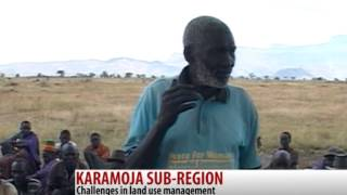 preview picture of video 'Karamoja sub-region faces land use challenges - Simon M'